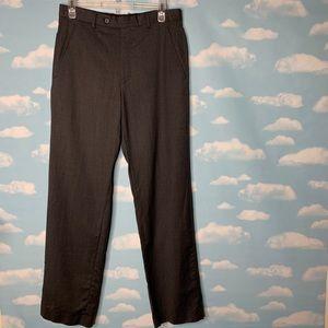 Alfani- Slim Fit Dark Gray Dress Pants 30 x 32